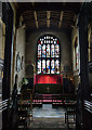 SP1501 : Sanctuary, St Mary's church, Fairford by Julian P Guffogg