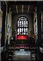 SP1501 : Sanctuary, St Mary's church, Fairford by Julian P Guffogg