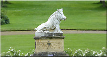 SE7170 : Statue, Castle Howard, Yorkshire by Christine Matthews