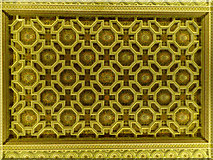 SE7170 : Ceiling in Chapel, Castle Howard, Yorkshire by Christine Matthews
