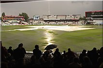 SJ8195 : 'Lac' lustre weather at Old Trafford by Anthony O'Neil