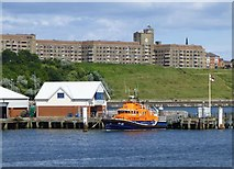 NZ3668 : Tynemouth RNLI lifeboat station by Russel Wills