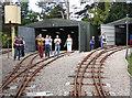 SP4725 : Beeches Light Railway - engine sheds by Chris Allen
