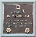 TM1881 : 100th Bomb Group Memorial by Evelyn Simak