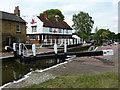 SP8834 : Fenny Stratford lock by Richard Croft
