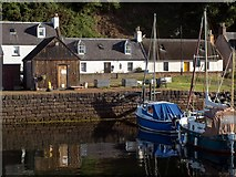 NH7055 : A quiet corner of Avoch Harbour by Greg Fitchett