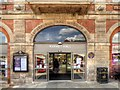 SK3871 : Chesterfield Market Hall Doorway by David Dixon