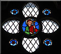 TQ3274 : St Paul, Herne Hill - Stained glass window by John Salmon