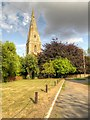SK8943 : St Mary's Church, Marston by David Dixon