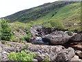 NH0562 : Waterfall on the Abhainn Bruachaig by Alpin Stewart