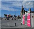 SJ3390 : Liverpool waterfront by Steve  Fareham