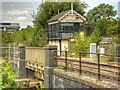 SK9771 : East Holmes Signal Box, Lincoln by David Dixon