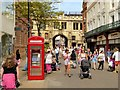 SK9771 : High Street Lincoln, Approaching the Stonebow and Guildhall by David Dixon