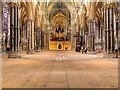 SK9771 : Lincoln Cathedral Nave by David Dixon
