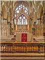 SK9771 : High Altar, Lincoln Cathedral by David Dixon