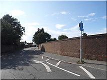 TQ0866 : Walton Lane, Lower Halliford by David Howard