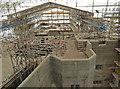 SX7290 : Castle Drogo - restoration work by Chris Allen