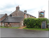 NY3458 : The Drovers Rest Public House - Monkhill by Anthony Parkes
