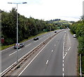 ST2999 : A4042 north of New Road, Pontypool by Jaggery
