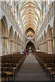 ST5545 : The Nave, Wells Cathedral by Julian P Guffogg