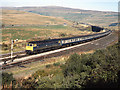 SD7991 : Train approaching Garsdale station - 1989 by The Carlisle Kid