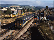 SO4382 : Train at Craven Arms - 1990 - (3) by The Carlisle Kid