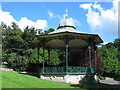 NZ4059 : Bandstand, Roker Park by Mike Quinn