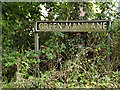 TM3097 : Green Man Lane sign by Adrian Cable