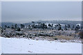 TQ4429 : Ashdown Forest, winter view by Robin Webster