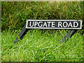 TM3195 : Upgate Road sign by Adrian Cable