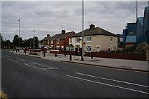 SE5023 : Houses on Weeland Road, Knottingley by Ian S