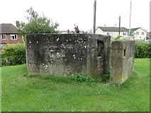 TM3763 : Polygonal pillbox at Saxmundham by Adrian S Pye