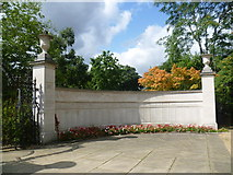 TQ1780 : Part of Ealing War Memorial by Marathon