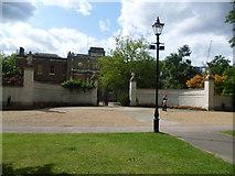 TQ1780 : Ealing War Memorial and Pitshanger Manor by Marathon