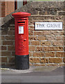 SK5542 : Nottingham Road postbox ref NG6 193 by Alan Murray-Rust