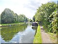 TQ0484 : Uxbridge, canal moorings by Mike Faherty