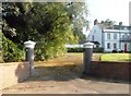 NY3356 : Entrance to a house in Moorhouse by Anthony Parkes