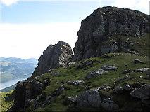 "NN2505 : South peak of Ben Arthur, ""The Cobbler� by Peter S"
