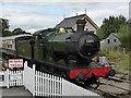 SX8061 : South Devon Railway - Totnes arrival by Chris Allen