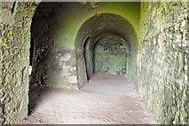 NU1341 : Inside the lime kilns, Lindisfarne by Jim Barton