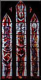 SO7137 : Stained glass window, St Michael & All Angels church, Ledbury by Julian P Guffogg