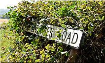 J4772 : Killynether Road name sign, Newtownards by Albert Bridge