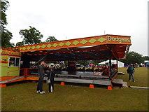 TM1645 : Dodgems, Christchurch Park by Hamish Griffin