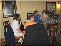 SU4208 : Eve of AGM 2014 Geographers in Hythe 7-Hants by Martin Richard Phelan