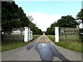 TM3093 : Entrance to Hill House by Adrian Cable