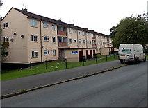 ST3091 : SE end of Simpson Close flats, Malpas, Newport by Jaggery