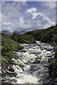 NC1224 : River Inver looking towards Quinag by Peter Moore