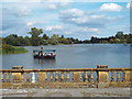 TQ4845 : Lake at Hever Castle by Malc McDonald