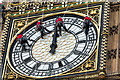 """TQ3079 : Cleaning the Clock Face, """"Big Ben"""", Elizabeth Tower, Palace of Westminster by Christine Matthews"""