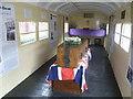 TQ7824 : Inside the Cavell Van, Bodiam station by Marathon